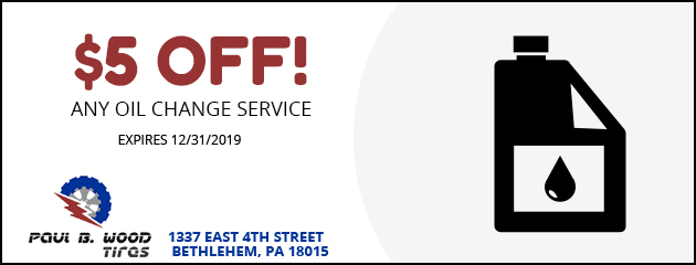 $5 Off!  any oil change service