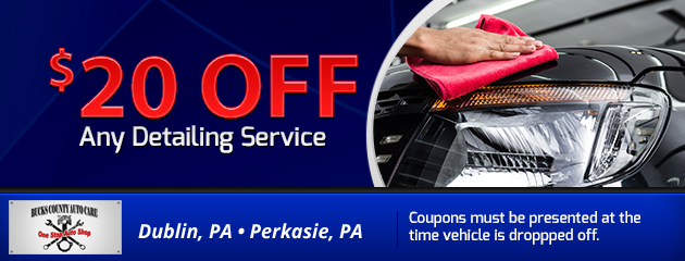 $20 OFF Any Detailing Service