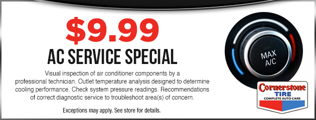 AC Service Special - $9.99