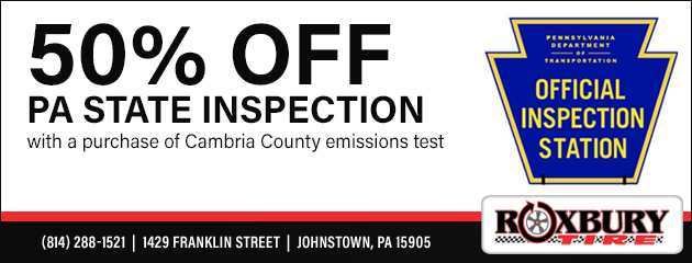50% Off PA State Inspection Coupon