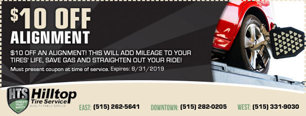 Used Tires Des Moines >> Hilltop Tire Service Auto Repair Tires In Des Moines Johnston