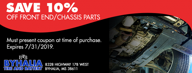 10% off front end/chassis parts