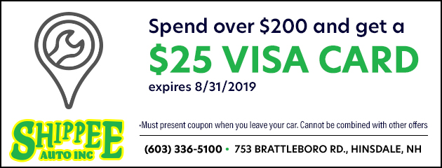 Spend over $200 and receive a $25 visa card.