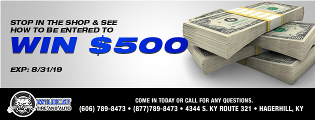 Stop in the shop & see how to be entered to win $500!