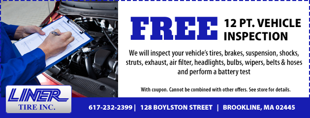 Free 12 Point Vehicle Inspection