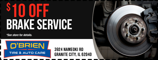 Granite City Coupons >> Coupons Savings At O Brien Tire Auto Care Save On