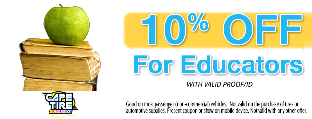 10% Off For Senior Educators