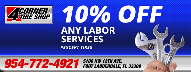 10% Off any Labor services