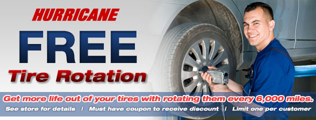 Free Tire Rotation - HACCC