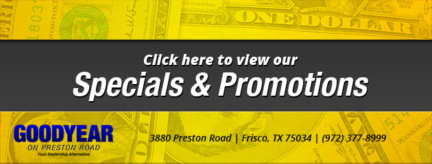 Preston Road Tire & Service Savings