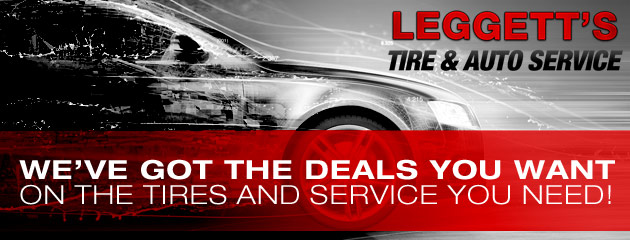 Leggetts Tire & Auto Service Savings