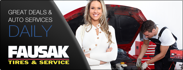 Fausak Tire & Service Savings