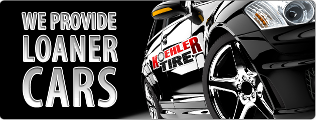 Koehler Tire Provides Loaner Cars