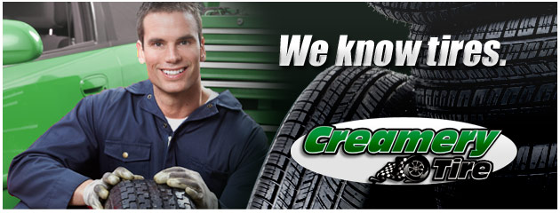 creamery tire coupon