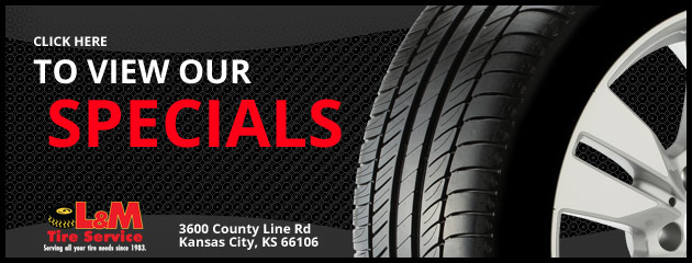 L&M Tire Service Savings