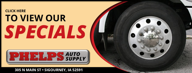 Phelps auto Supply Savings