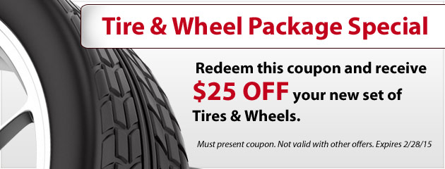 Tire & Wheel Package
