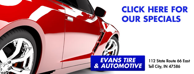 Evans Tire & Automotive Savings