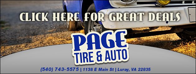 Page Tire & Auto Savings