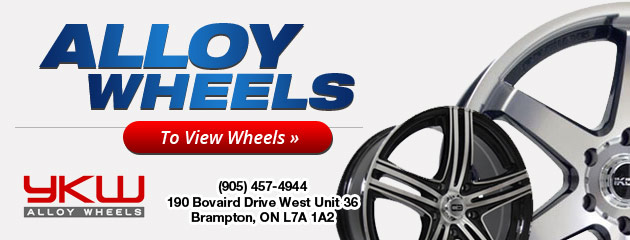 Brampton Tire Discounter Alloy Wheels