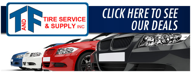T & F Tire Service & Supply Savings