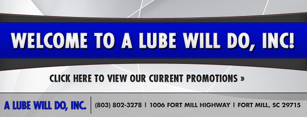 A Lube Will Do Inc Savings