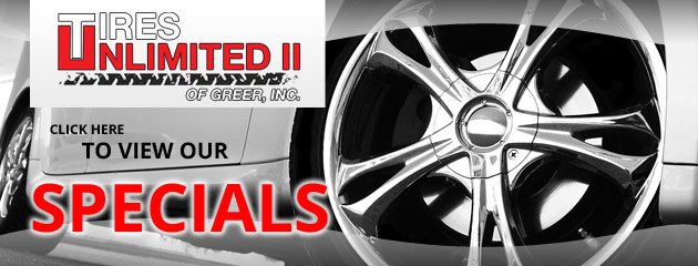 Tires Unlimited II of Greer Savings