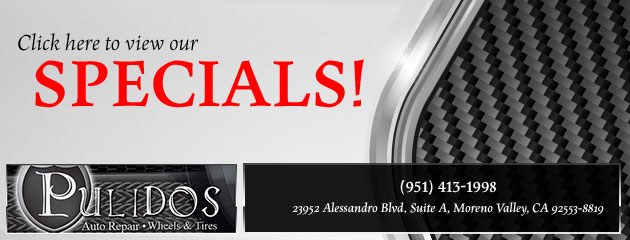 Pulidos Wheels and Tires Savings