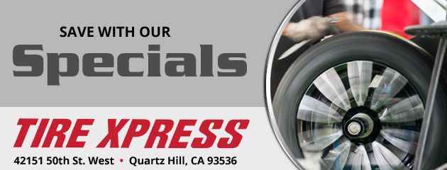 Tire Xpress Savings