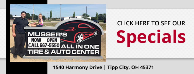 Mussers All In One Tire & Auto Center Savings