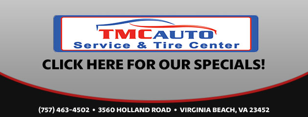 TMC Auto Service & Tire Center Savings