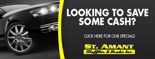 St Amant Muffler & Brake Inc Savings