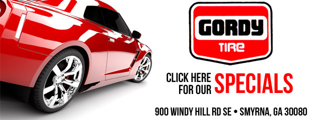 Gordy Tire Savings