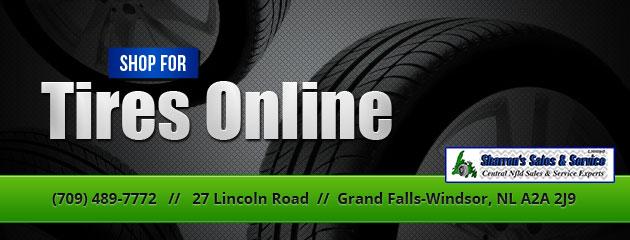 Online Tire Sales >> Sharron S Sales Services Limited Grand Falls Windsor Nl