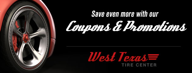 West Texas Tire Center Savings