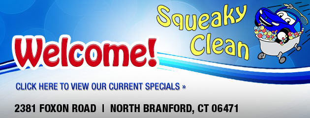 Squeaky Clean Car Wash Savings