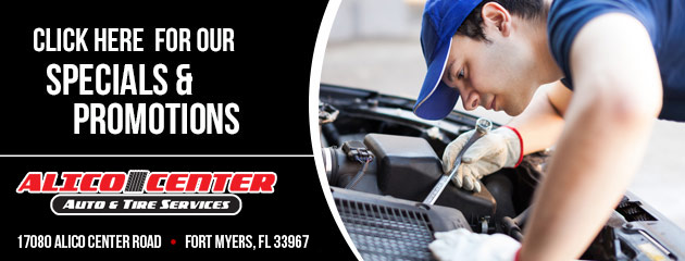 Alico Center Auto & Tire Services Savings
