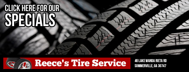 Reeces Tire Service Savings