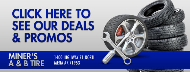 Miners A & B Tire Savings