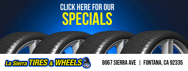 La Sierra Tires & Wheels Savings