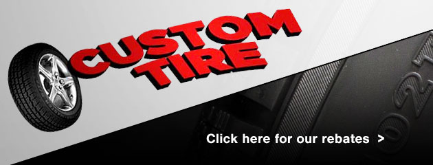Custom Tire Savings