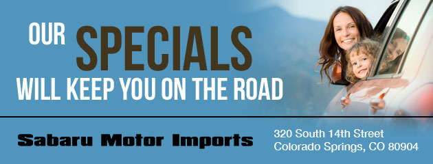 Sabaru Import Motors Savings