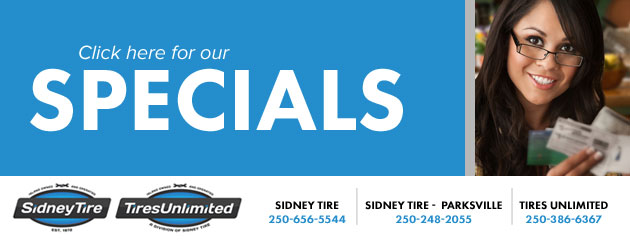 Sidney Tire Savings