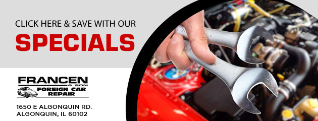 Francen & Son Foreign Car Repair Savings