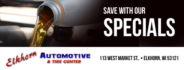 Elkhorn Automotive & Tire Center Savings