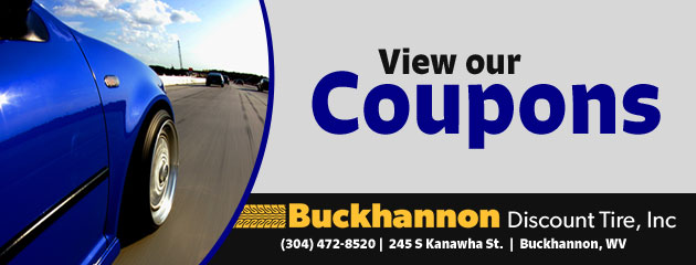 Buckhannon Discount Tire Savings