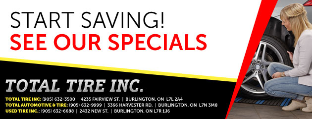 Total Tire Inc Savings