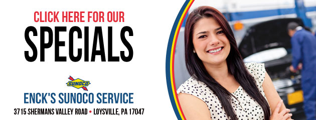 Encks Sunoco Service Savings