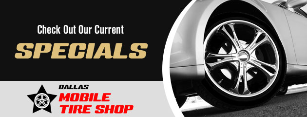 Dallas Mobile Tire Shop Savings