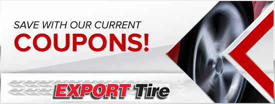 Export Tire Savings